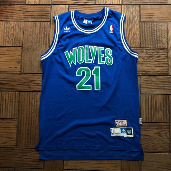 innovative design ac293 2ffdb NEW Kevin Garnett Minnesota Timberwolves Jersey